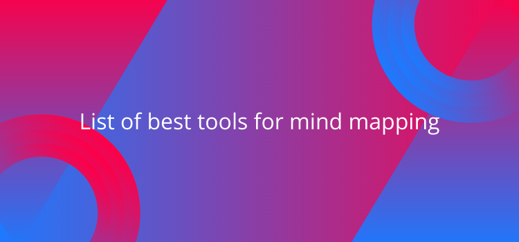 List of best tools for mind mapping